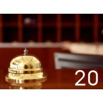 Software Gestione Alberghi - 20 Camere - Canone Mensile